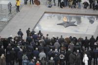 Официальная  церемония демонстрации Самого большого Знамени Победы
