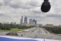 Новый национальный рекорд Самого большого Флага России установлен!