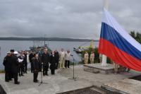 Флагшток «Знамя Победы» установлен на мысе Алыш в Североморске