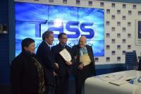 Расширенная пресс-конференция в ТАСС