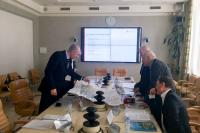 Рабочая встреча по вопросу реализации  проекта Башня-флагшток «Победа»