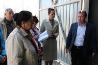 Посещение пункта временного хранения радиоактивных отходов