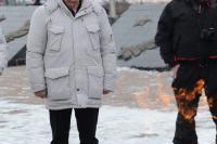 Делегация Миротворческой миссии «Самое большое Знамя Победы на Северном полюсе» - в Норильске